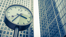 Docklands Clocks, London. The ...
