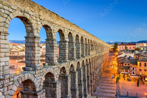Segovia Spain Aqueduct
