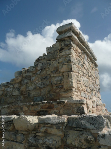 Foto op Aluminium Rudnes Mayan Ruins of the Ixchel Temple on Isla Mujeres