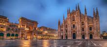 Milan, Italy: Piazza Del Duomo...