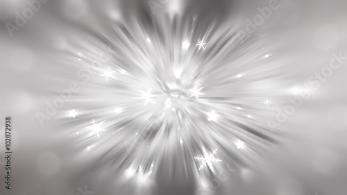 Fototapety, obrazy: Christmas grey background. the winter background, falling snowfl