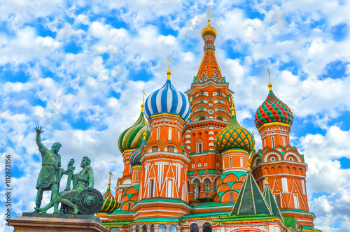 Saint Basil's Cathedral (Red Square in Moscow)