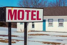 Old Abandoned Retro Motel