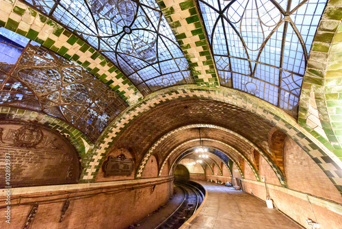 Abandoned City Hall Station - New York City