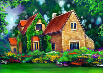 Дом загород