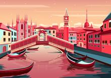 Cityscape Of Venice, Italy