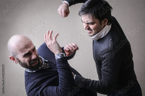 Photo Involved in a fight