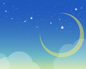 Fototapeta 星が綺麗な夜空
