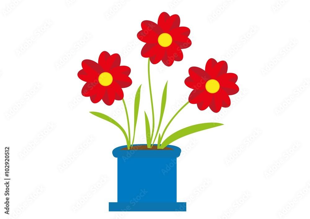 Obraz kwiaty fototapeta, plakat