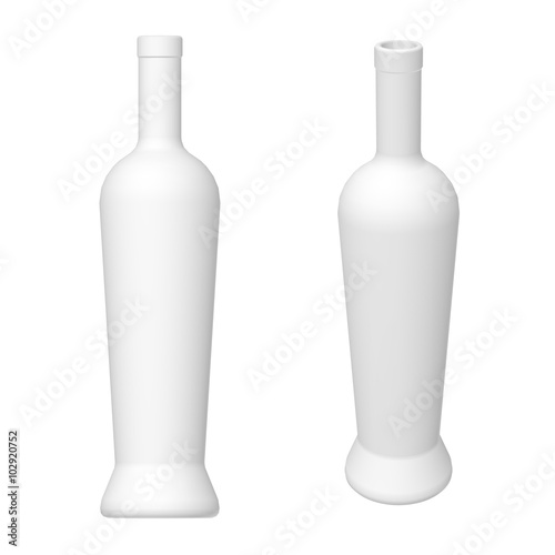 wine bottle template 3d render buy this stock illustration and