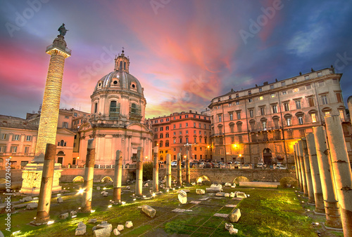 Rome Sunset - 102924524