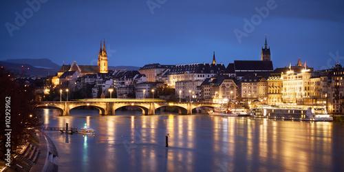 Zdjęcie XXL Panorama Basel
