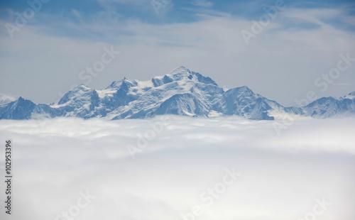 Fotografie, Obraz  Mountains of Alpes