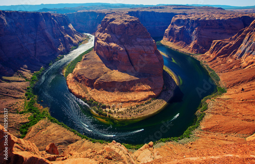 fototapeta na lodówkę Horseshoe bend, Colorado river, Page, Arizona