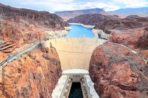 Wallpaper Mural Hoover Dam