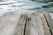 wood texture, showing texture of old hardwood with water in a fr
