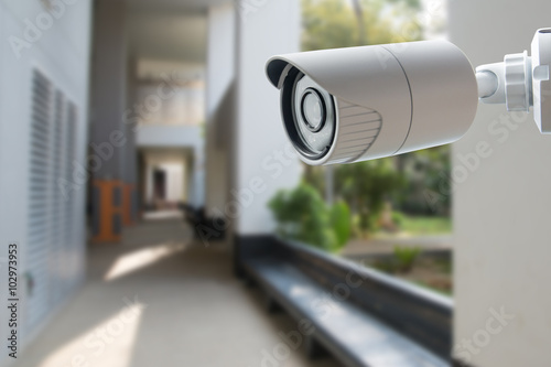 Fotografia  CCTV Security Camera