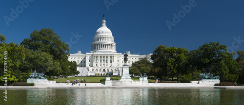 Canvas Prints Historic monument The US Capitol