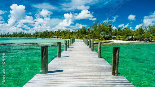 Photo Dock in the bahamas