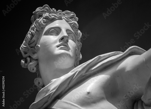 Valokuvatapetti Apollo Belvedere statue