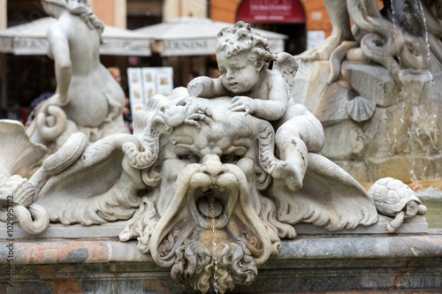 Fotografia Piazza Navona Fountain of Neptun