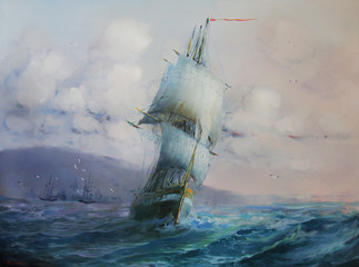 Panel Szklany Marynistyczny Seascape