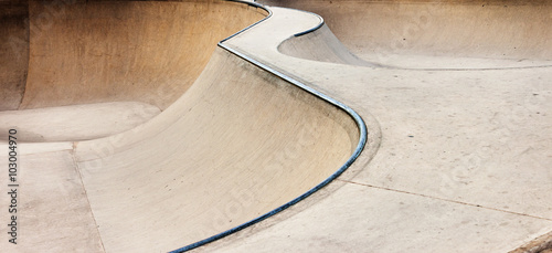 Photo  Skate-park background