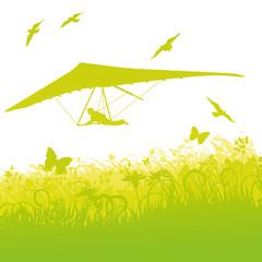 FototapetaDrachenflieger in der Natur