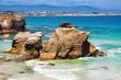 Rocks at coast of Spain