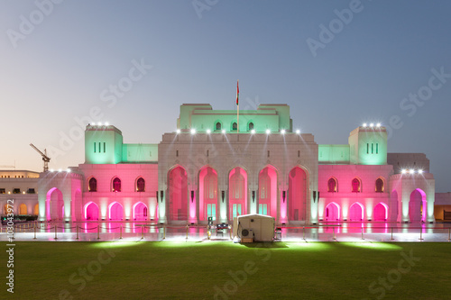 Canvas Prints Theater The Royal Opera House Muscat, Oman