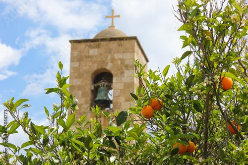 Foto op Canvas Cyprus Monastery of St. Barnabas in Cyprus