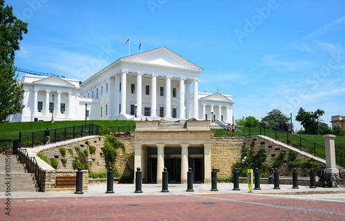 Fotografie, Obraz  Virginia State Capitol