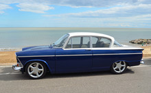 Classic Blue And White Humber...