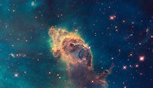 Jet In Carina Nebula. Composed...
