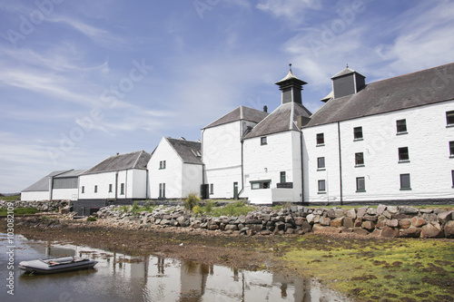 Tablou Canvas Isle of Islay, Laphroaig Distillery