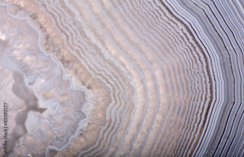 In de dag Macrofotografie waves in light agate structure