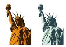 イラスト素材「自由の女神」