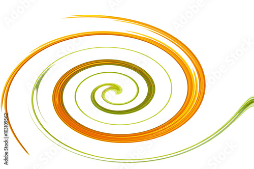 Foto op Plexiglas Spiraal Farbige Spirale