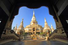 Beautiful Buddhist Temple In T...