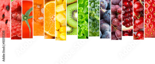Fruits and vegetables © seralex