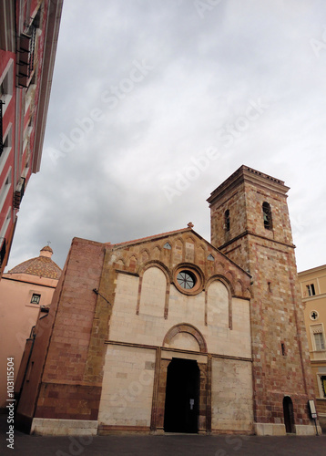 Fotografie, Obraz  cattedrale di Santa Chiara