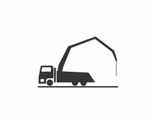 Concrete Pump Truck Logo