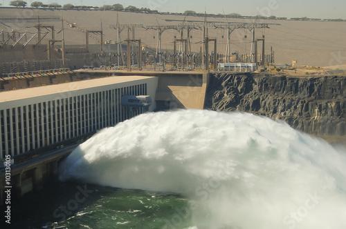 Photo Aswan High Dam - Aswan - Egypt