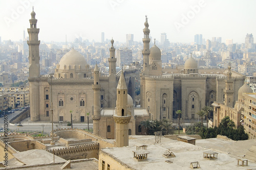 Staande foto Afrika Mosque Madrassa of Sultan Hassan - Cairo - Egypt