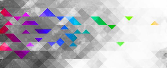 Fototapeta abstrakcyjne tło geometryczne kolorowe