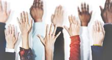 Hands Together Join Partnership Unity Variation Team Concept