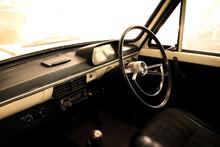 Classic Car - Vehicle Interior  Vintage