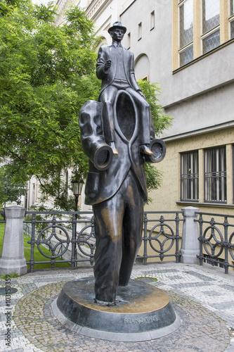 Photo  Памятник писателю Францу Кафке в Праге