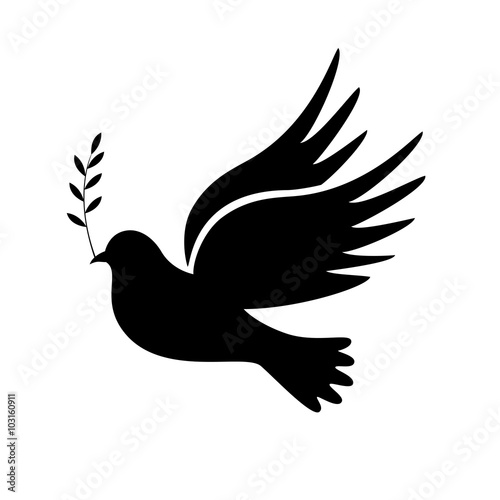 Dove of peace  Dove of Peace Vector  - Buy this stock vector