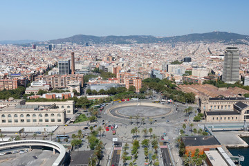 Obraz Barcelona City View